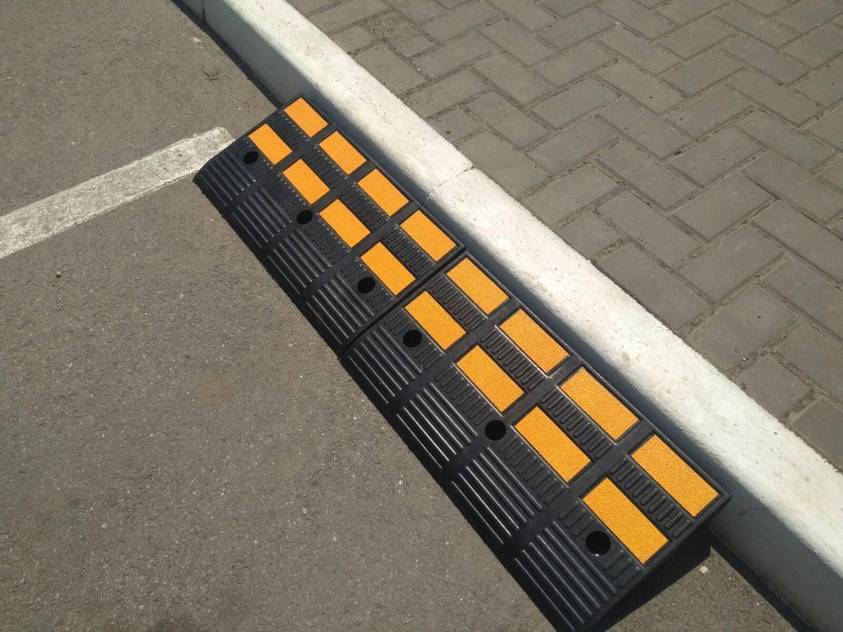 Separatory parkingowe sklep